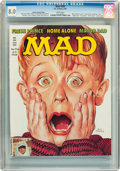 Magazines:Humor, Mad #303 Hussein Asylum Edition (EC, 1991) CGC VF 8.0 Whitepages....