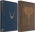 Books:Sporting Books, Pair of Books About Elephant Hunting, including: Captain C. H.Stigand. Hunting the Elephant in Africa and Other... (Total: 2Items)