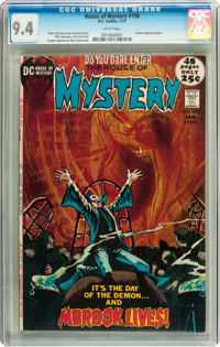 House of Mystery #198 (DC, 1972) CGC NM 9.4 White pages