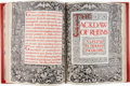 Books:Fine Press & Book Arts, Thomas Ingoldsby. Hand-Illustrated Manuscript for The Jackdaw ofRheims. No place or date of publication. Illust...