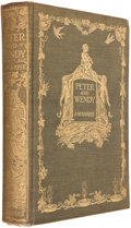 Books:Children's Books, J. M. Barrie. Peter and Wendy. New York: Charles Scribner'sSons, [1911]. First American edition. Octavo. 267 pages ...