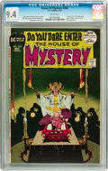 Bronze Age (1970-1979):Horror, House of Mystery #202 (DC, 1972) CGC NM 9.4 White pages....