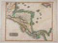Books:Maps & Atlases, John Thomson. Maps of Spanish North America. Two largedouble-page hand-colored maps: plate No. 58 depicting Mex...