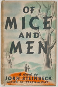 Books:Literature 1900-up, John Steinbeck. Of Mice and Men. New York: Covici Friede,[1937]. First edition, first issue, with a bullet betw...