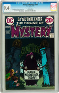 Bronze Age (1970-1979):Horror, House of Mystery #208 (DC, 1972) CGC NM 9.4 White pages....