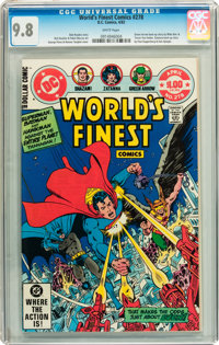 World's Finest Comics #278 (DC, 1982) CGC NM/MT 9.8 White pages