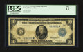 Large Size:Federal Reserve Note, Fr. 929* $10 1914 Federal Reserve Note PCGS Fine 12.. ...