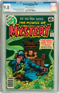 Bronze Age (1970-1979):Horror, House of Mystery #268 (DC, 1979) CGC NM/MT 9.8 Off-white to whitepages....