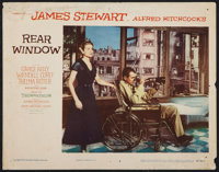 "Rear Window (Paramount, 1954). Lobby Card (11"" X 14""). Hitchcock"