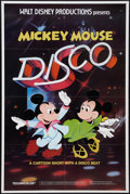 "Movie Posters:Animated, Mickey Mouse Disco (Buena Vista, 1980). One Sheet (27"" X 41"").Animated.. ..."