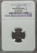 Early Half Dimes: , 1797 H10C 16 Stars--Plugged--NGC Details. Good. LM-2. PCGSPopulation (1/60). Numismedia Wsl. Price fo...