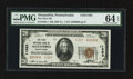 National Bank Notes:Pennsylvania, Alexandria, PA - $20 1929 Ty. 1 The First NB Ch. # 11263. ...