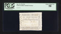 Colonial Notes:North Carolina, North Carolina April 23, 1761 20s PCGS Choice About New 58.. ...