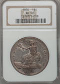 Trade Dollars: , 1876 T$1 AU50 NGC. NGC Census: (7/334). PCGS Population (14/411).Mintage: 455,000. Numismedia Wsl. Price for problem free ...