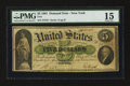 Large Size:Demand Notes, Fr. 1 $5 1861 Demand Note PMG Choice Fine 15.. ...