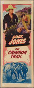"""Movie Posters:Western, The Crimson Trail (Realart, R-1948). Stock Insert (14"""" X 36""""). Western.. ..."""