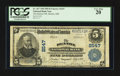 National Bank Notes:Maryland, Denton, MD - $5 1902 Plain Back Fr. 607 The Denton NB Ch. # 2547....
