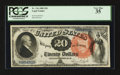 Large Size:Legal Tender Notes, Fr. 136 $20 1880 Legal Tender PCGS Very Fine 35.. ...