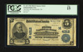 National Bank Notes:Wisconsin, Rhinelander, WI - $5 1902 Plain Back Fr. 601 The First NB Ch. # (M)4312. ...