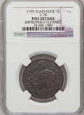 Large Cents, 1795 1C Plain Edge--Improperly Cleaned-- NGC Details. Fine. S-78.NGC Census: (10/100). PCGS Population (20/238). Mintage: ...