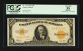 Large Size:Gold Certificates, Fr. 1173 $10 1922 Gold Certificate PCGS Apparent Very Fine 35.. ...