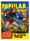 Golden Age (1938-1955):Miscellaneous, Popular Comics #59-64 Bound Volume (Dell, 1941)....