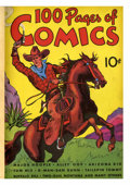 Platinum Age (1897-1937):Miscellaneous, 100 Pages of Comics #101 Bound Volume (Dell, 1937)....