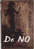 Books:First Editions, Ian Fleming. Dr. No. London: Jonathan Cape, [1958]. Firstedition, first printing. Octavo. 256 pages. Publisher's bi...