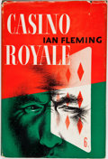 Books:First Editions, Ian Fleming. Casino Royale. New York: Macmillan, 1954. FirstAmerican edition, first printing. Octavo. 176 pages. Pu...