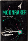 Books:First Editions, Ian Fleming. Moonraker. New York: Macmillan, 1955. FirstAmerican edition, first printing. Octavo. 220 pages. Publis...