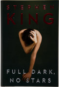 Books:Signed Editions, Stephen King. Full Dark, No Stars. New York: Scribner,[2010]. First edition, first printing. Signed by King on ...