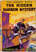 Books:First Editions, Franklin W. Dixon. The Hardy Boys. The Hidden HarborMystery. New York: Grosset & Dunlap, [1935]. Firstedition,...