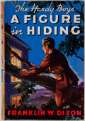 Books:Children's Books, Franklin W. Dixon. The Hardy Boys. A Figure in Hiding.Illustrated by Paul Laune. New York: Grosset & Dunlap Pub...