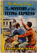 Books:Children's Books, Franklin W. Dixon. The Hardy Boys. The Mystery of the FlyingExpress. Illustrated by Paul Laune. New York: Gross...