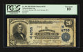 National Bank Notes:Wyoming, Rock Springs, WY - $20 1902 Plain Back Fr. 654 The Rock Springs NB Ch. # (W)4755. ...