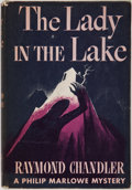 Books:First Editions, Raymond Chandler. The Lady in the Lake. New York: Knopf,1943. First edition, first printing. Octavo. 216 pages. Pub...