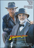 "Movie Posters:Action, Indiana Jones and the Last Crusade (Paramount, 1989). German A1(23.25"" X 33""). Action.. ..."
