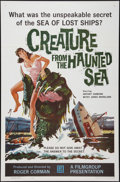 """Movie Posters:Horror, Creature from the Haunted Sea (Filmgroup, Inc., 1961). One Sheet (27"""" X 41""""). Horror.. ..."""