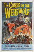 "Movie Posters:Horror, Curse of the Werewolf (Universal International, 1961). One Sheet(27"" X 41""). Horror.. ..."