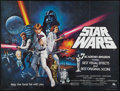 "Movie Posters:Science Fiction, Star Wars (20th Century Fox, 1977). British Quad (30"" X 40"").Academy Award Style C. Science Fiction.. ..."