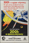 """Movie Posters:Science Fiction, 2001: A Space Odyssey (MGM, 1968). Australian One Sheet (27"""" X40""""). Science Fiction.. ..."""
