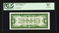 Error Notes:Inverted Reverses, Fr. 1606 $1 1934 Inverted Reverse Silver Certificate. PCGS AboutNew 53.. ...