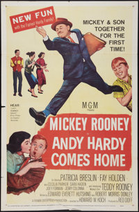 "Andy Hardy Comes Home (MGM, 1958). One Sheet (27"" X 41""). Comedy"