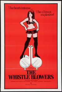 "The Whistle Blowers and Others Lot (Dielst, 1973). One Sheets (3) (27"" X 41"") (two are Flat Folded). Adult..."