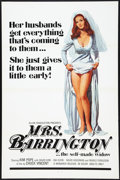 "Movie Posters:Adult, Mrs. Barrington and Others Lot (Monarch, 1974). One Sheets (4) (27"" X 41""). Adult.. ... (Total: 4 Items)"