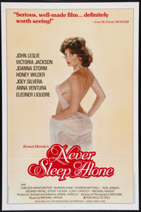 "Never Sleep Alone & Others Lot (Kemal Enterprises, 1983). One Sheets (61) (27"" X 41""). Adult. ... (Total:..."