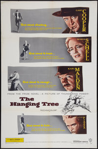 "The Hanging Tree (Warner Brothers, 1959). One Sheet (27"" X 41""). Western"