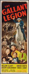 "Movie Posters:Western, The Gallant Legion (Republic, 1948). Insert (14"" X 36""). Western.. ..."
