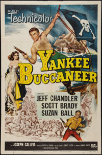"Yankee Buccaneer and Other Lot (Universal International, 1952). One Sheets (2) (27"" X 41""). Adventure. ... (To..."