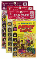 Bronze Age (1970-1979):Cartoon Character, Harvey-Pax Comics Sad Sack Related File Copy Group (Harvey,1973-74) Condition: Average VF/NM.... (Total: 12 Items)